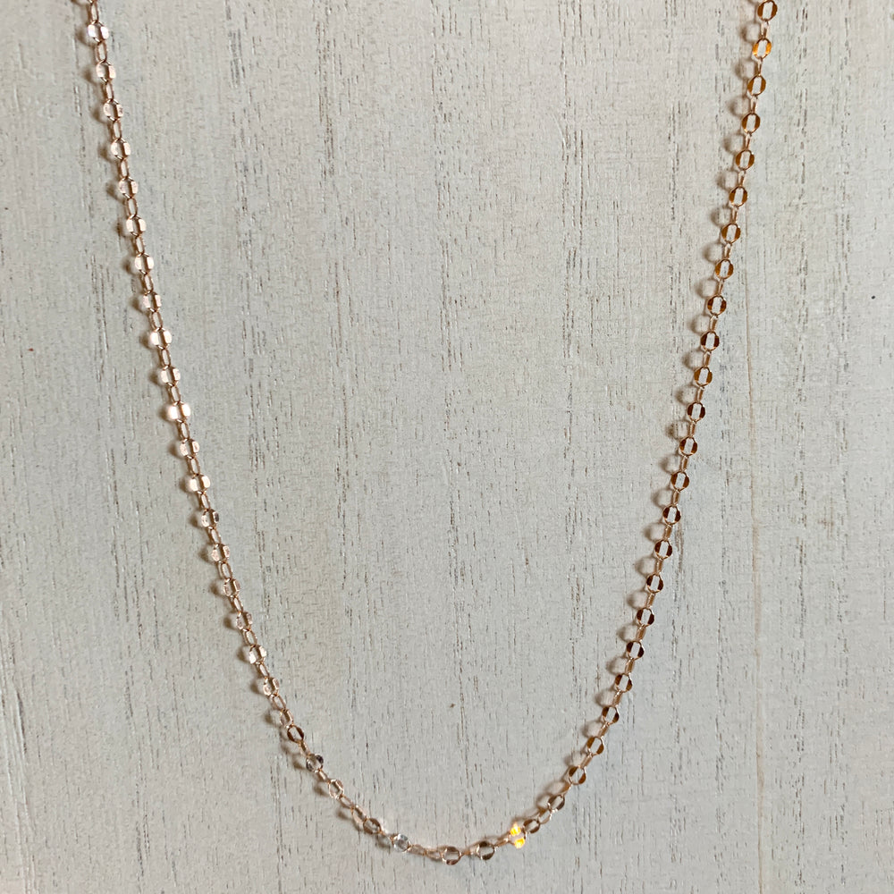 Sparkle Chain - Rose Gold