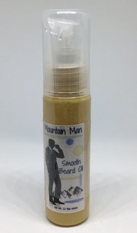 Mountain Man Beard Oil - Soapalamode