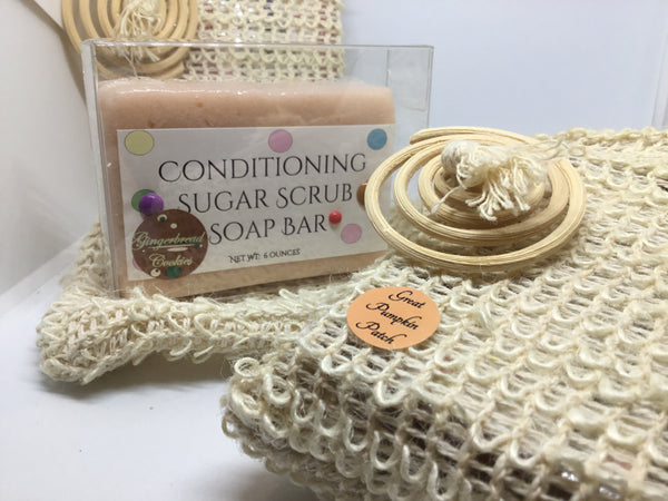 Foaming Sugar Scrub Bar Soap - Soapalamode
