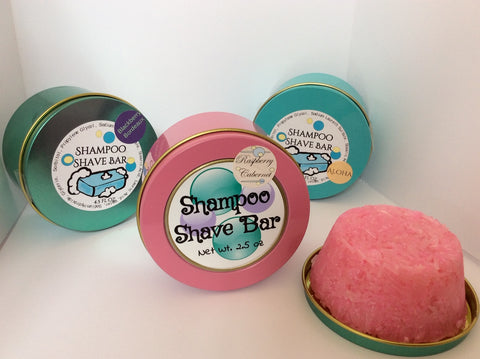 Large Shampoo Bar in Travel Tin - Soapalamode