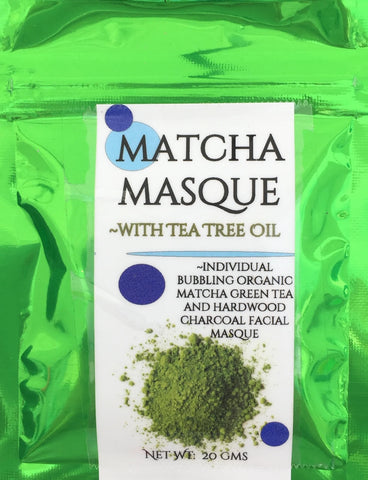 Matcha Green Tea Masque - Soapalamode