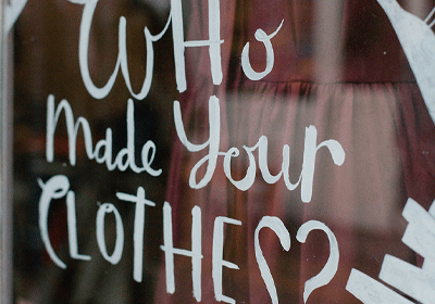 Why it's so important to be asking #whomademyclothes
