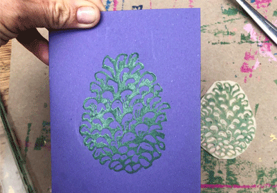 Festive Lino Cut Workshop