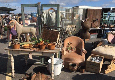 Sunbury Antiques Market Guide
