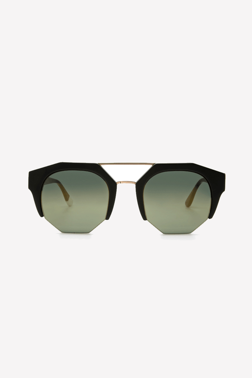 Kibwe Sunglasses in Matt Black
