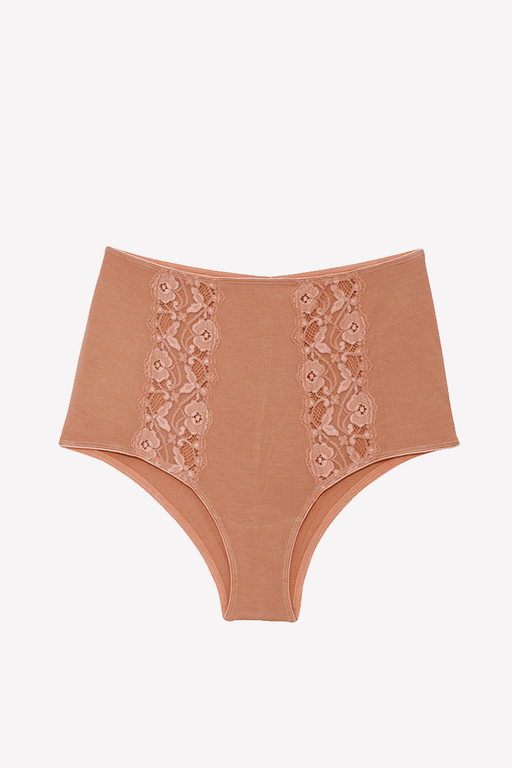 Mia Hipsters Organic Cotton Tan