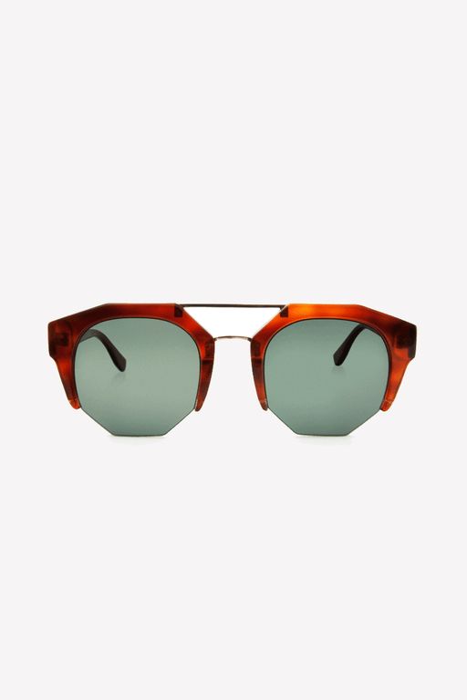 Kibwe Sunglasses in Amber