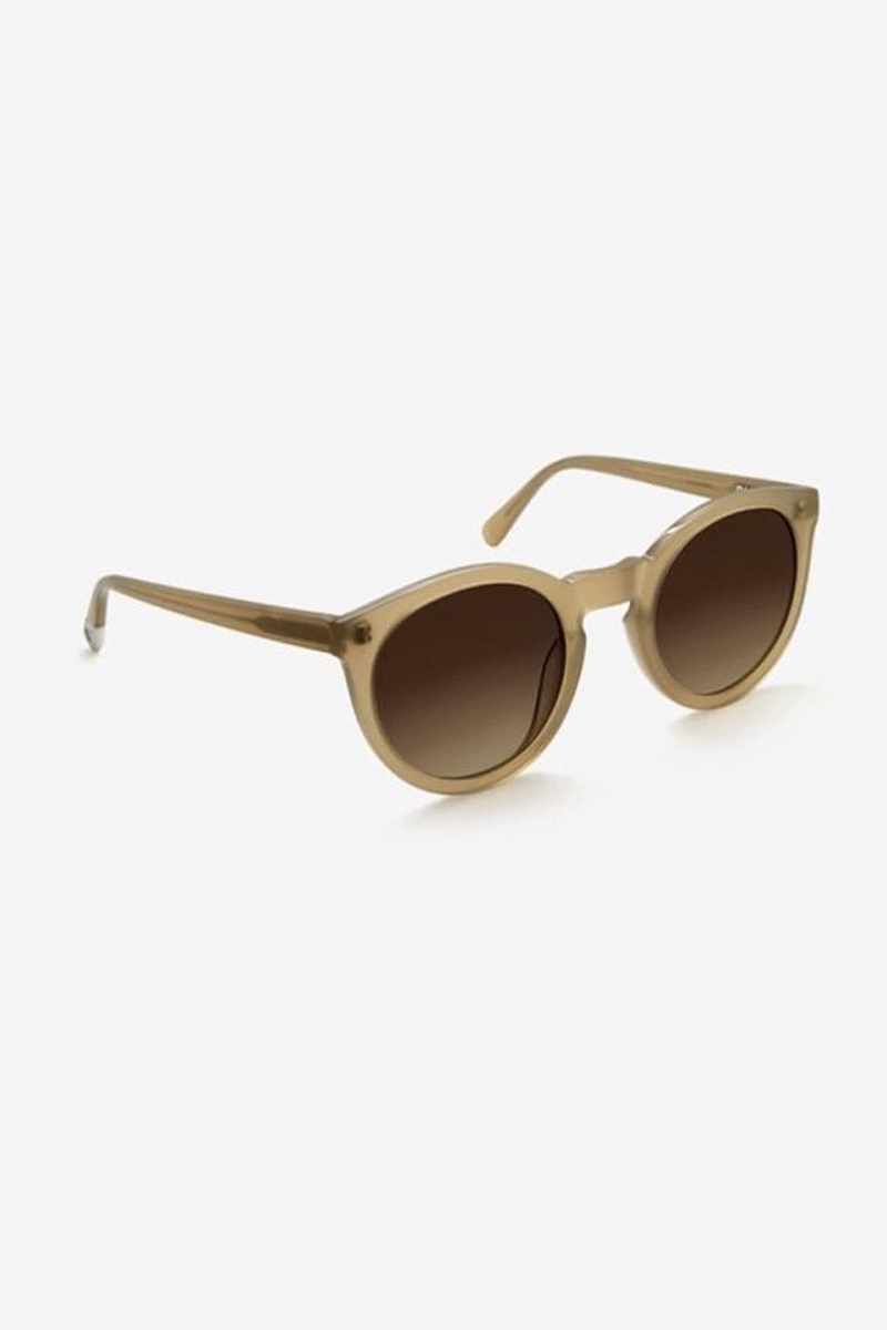 Asha Sunglasses in Champagne