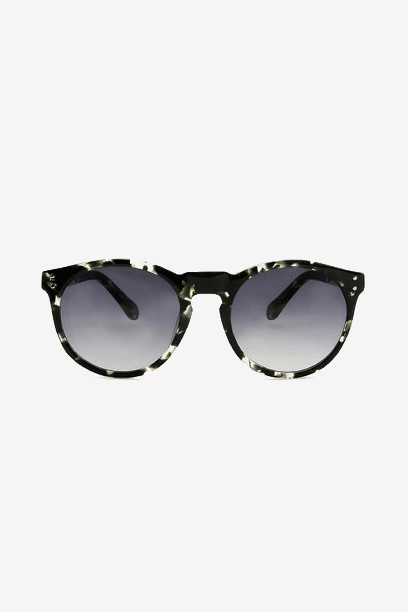 Asha Sunglasses in Tortoiseshell Black