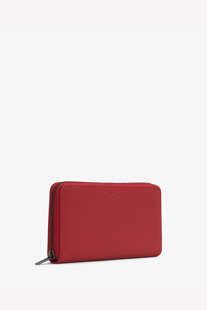Central Vegan Wallet in Red