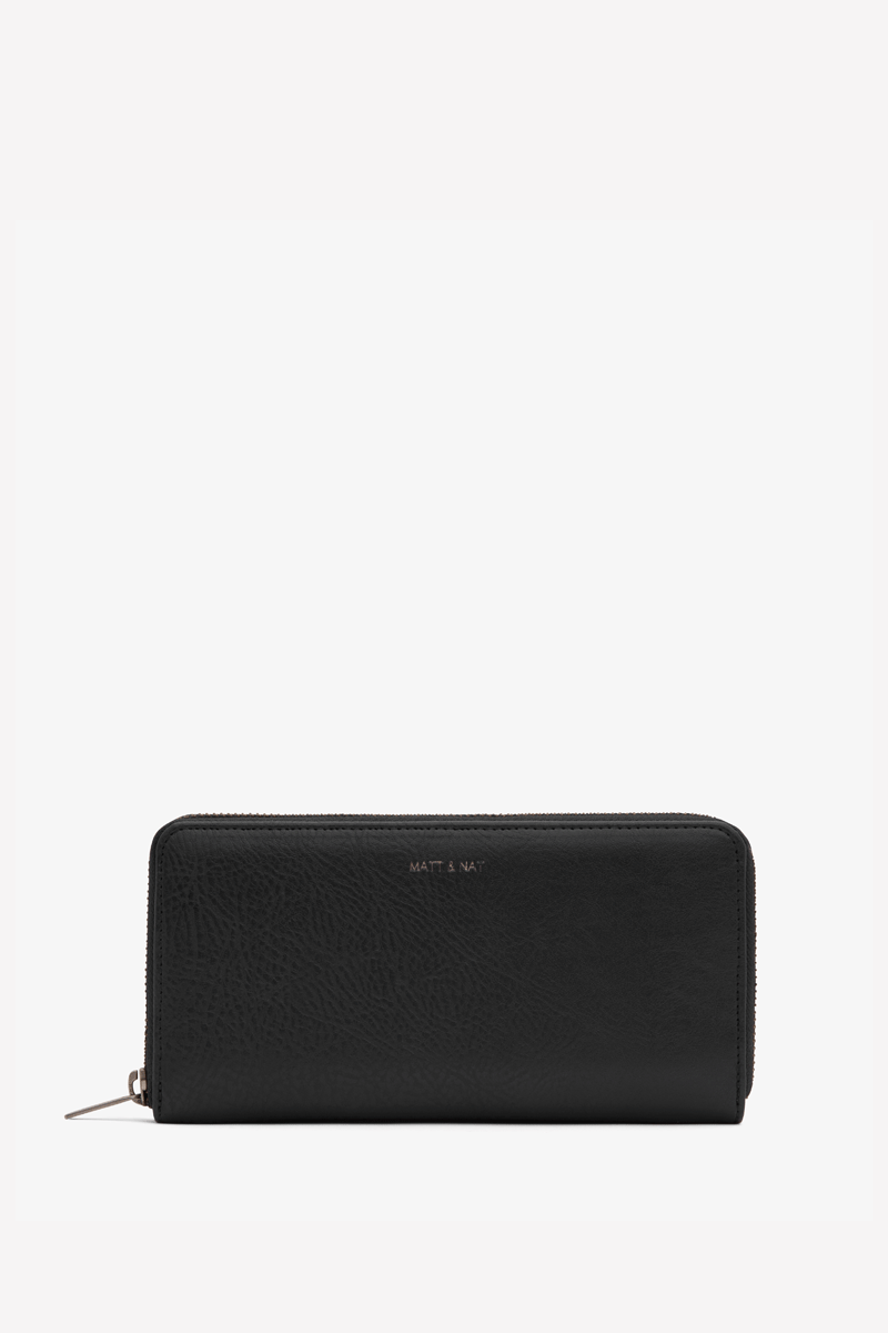 Central Vegan Wallet in Black