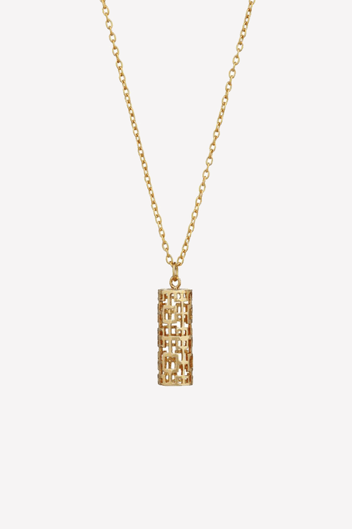 Aztec Pendant in Gold