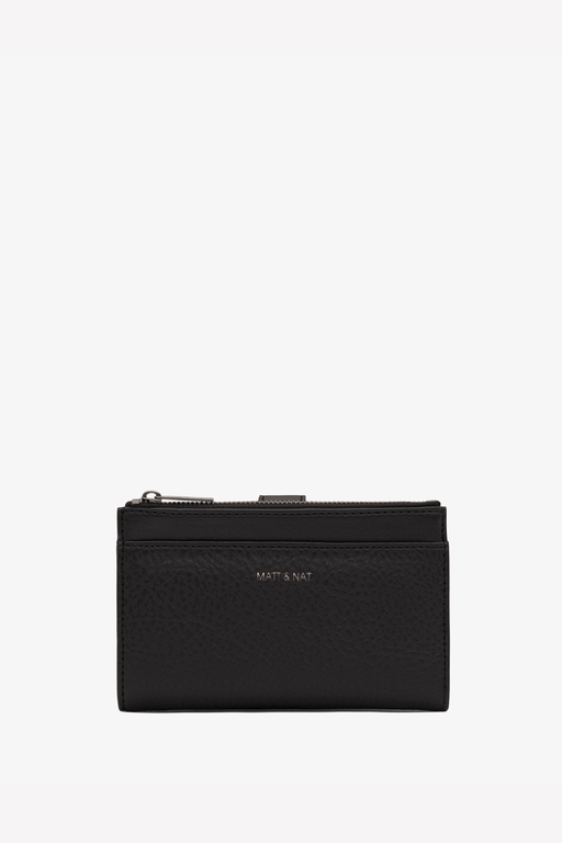 Motiv SM Vegan Wallet in Black