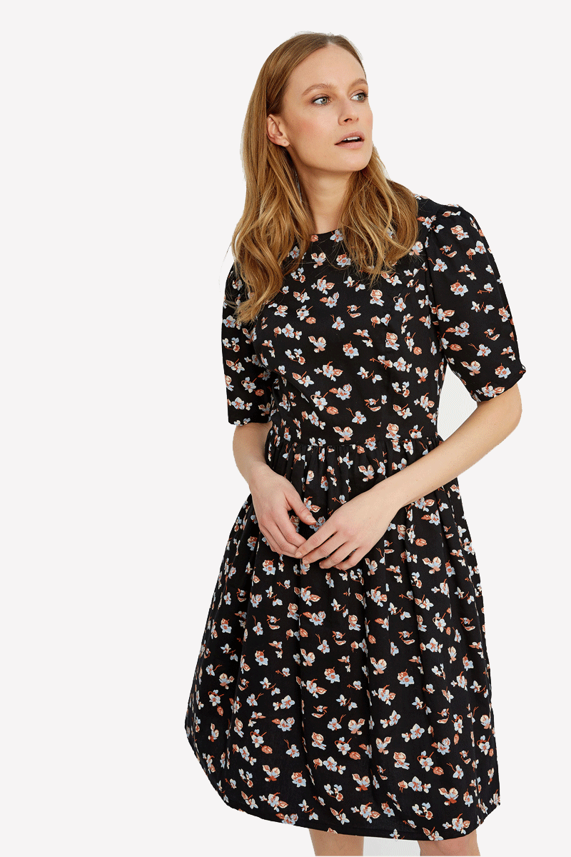 People Tree Janey Floral Dress
