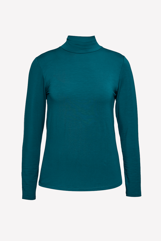 People Tree Marylou Tencel Top in Teal