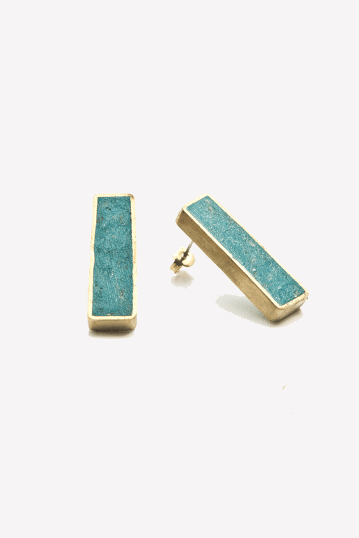 Pulp Oblong Earrings on Shepherds Hook
