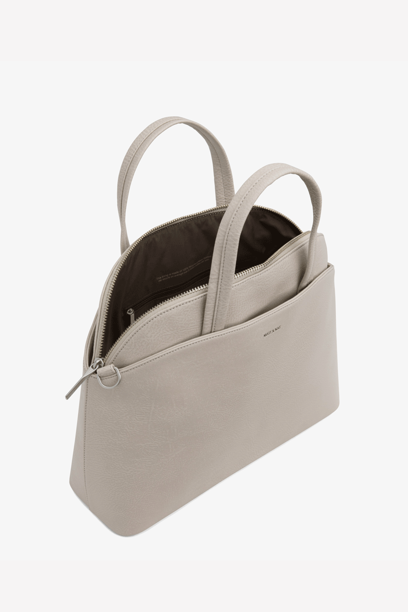 Ville Vegan Leather Crossbody bag in Koala
