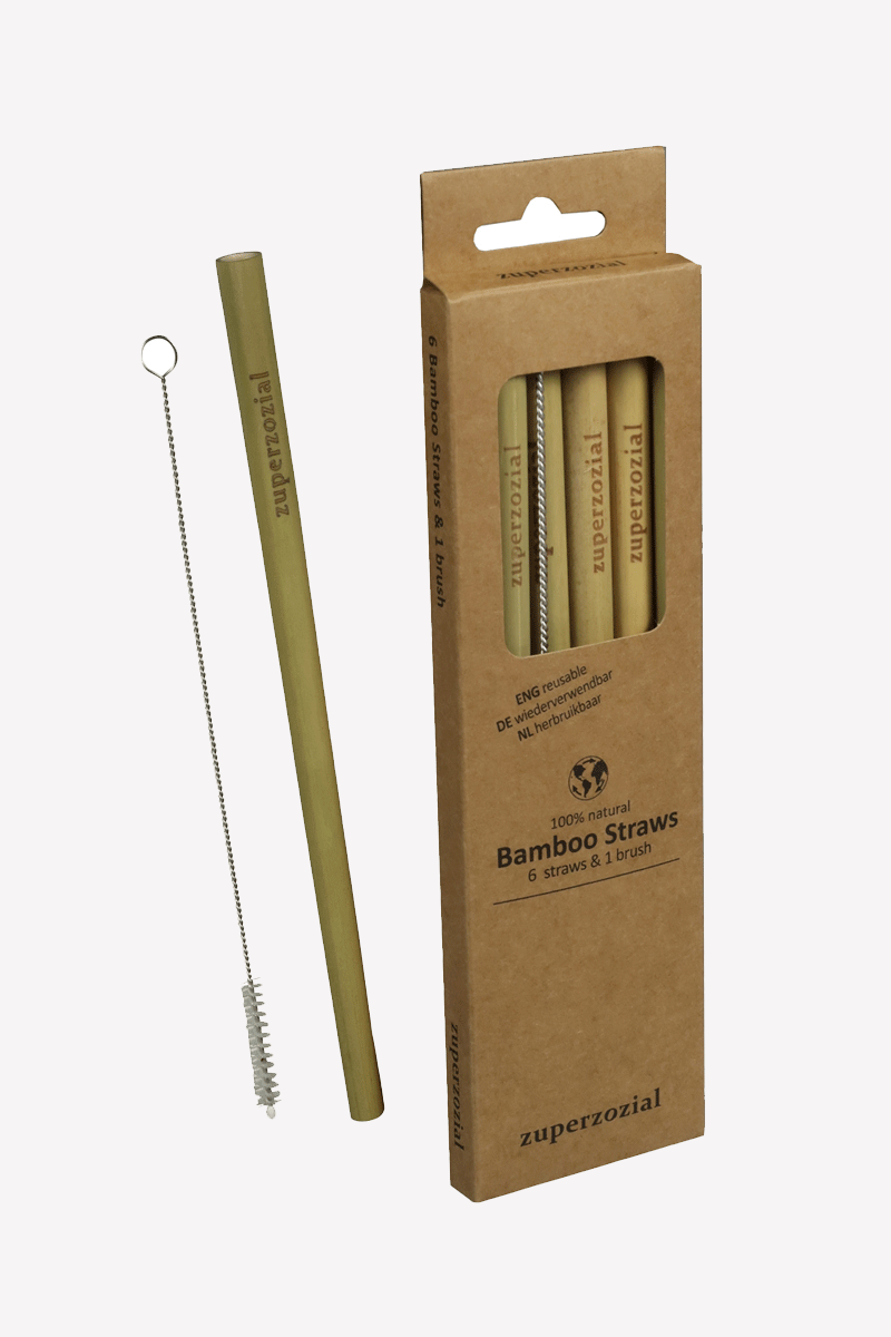 Re-Usable Bamboo Straws