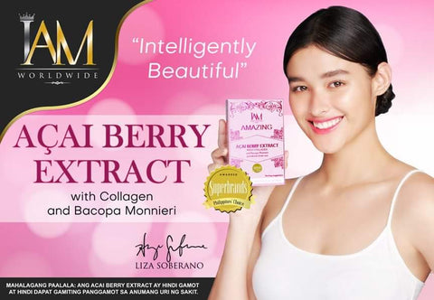 3 BOXES of ACAI BERRY with COLLAGEN and BACOPA MONNIERI