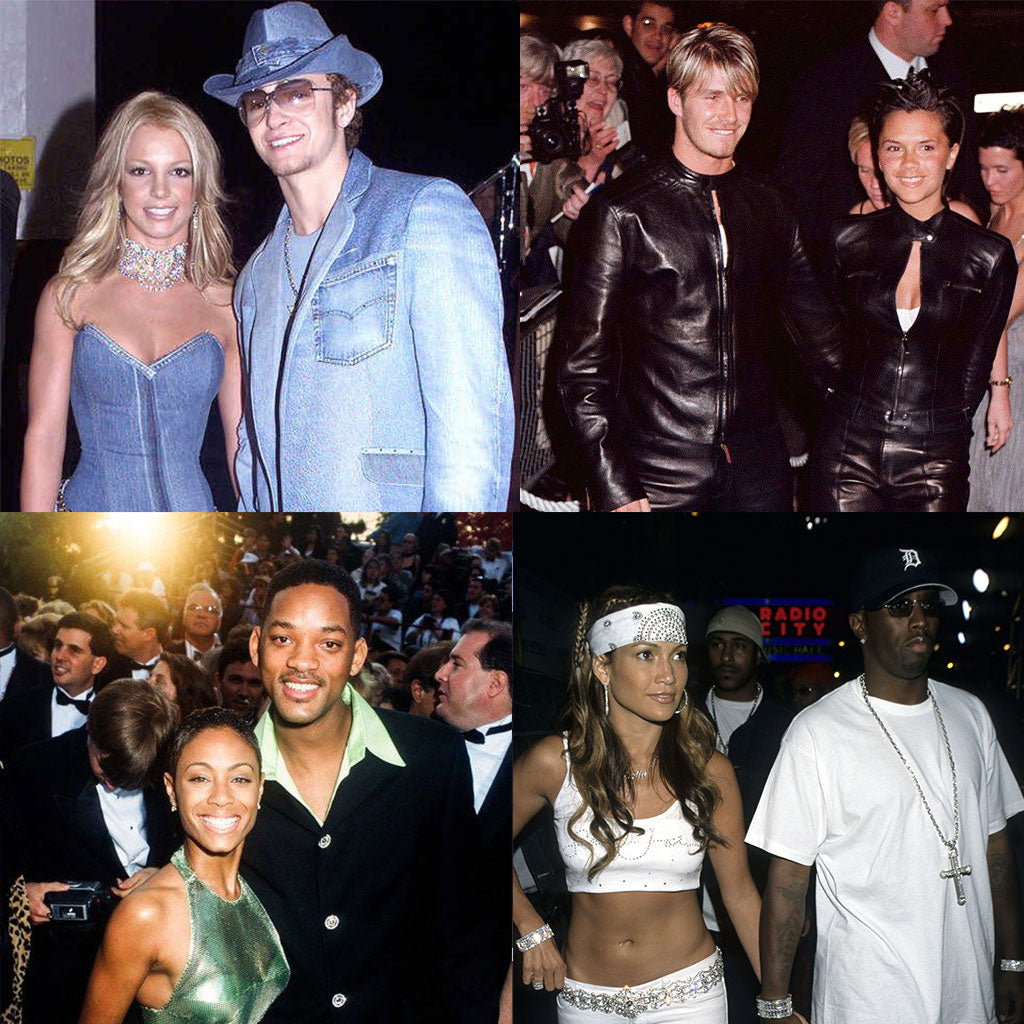 The Most Iconic Celebrity Couple Outfits Ever