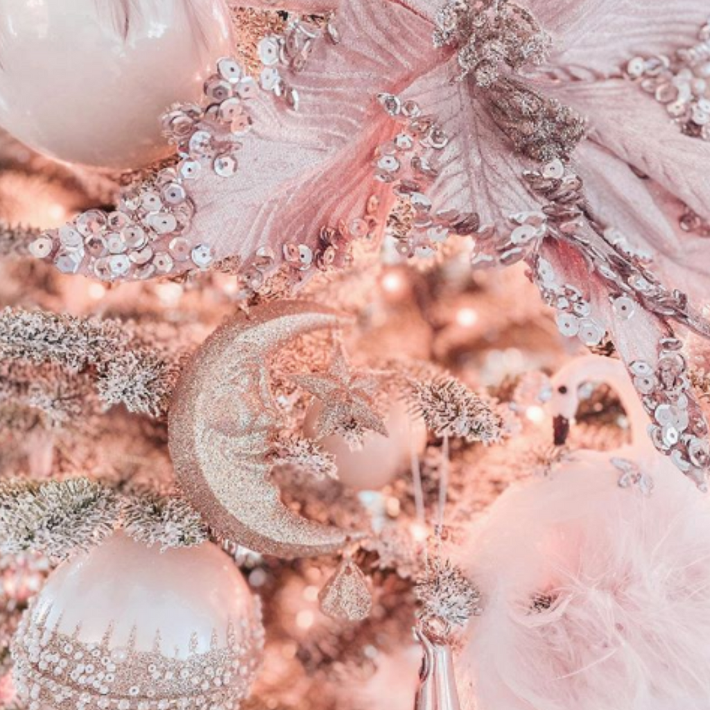 Pink Christmas Trees We're in Love With!