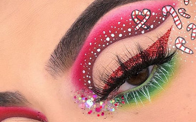9 Christmas Inspired Makeup Looks