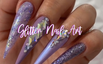 Glitter Nail Art To Make You Say OMG