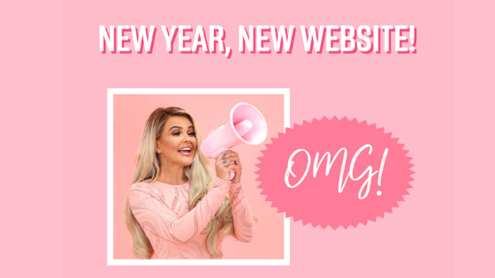 NEW YEAR, NEW PINK BOUTIQUE WEBSITE!