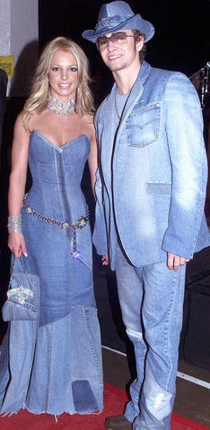 Britney Spears and Justin Timberlake Denim Outfits