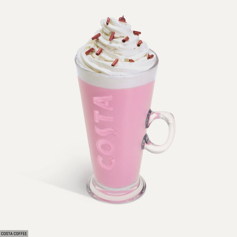 Costa Coffee Ruby Cocoa Hot Chocolate
