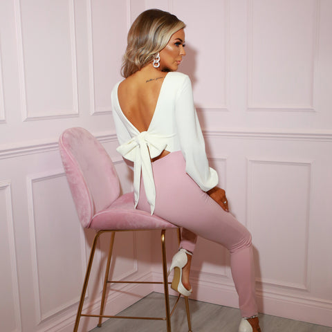 Blush Pink Jumpsuit