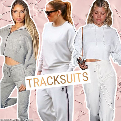 Celebrities Wearing Tracksuits