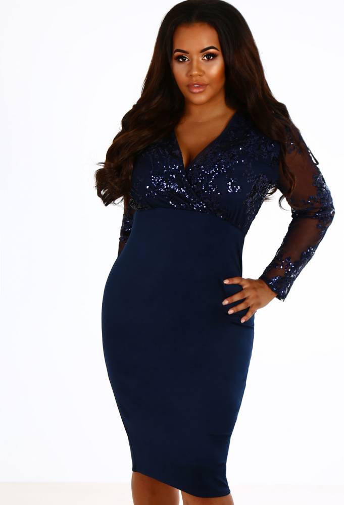 curvechristmaspartydress