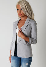 Abryanna Grey Blazer Jacket