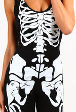 Fright Night Black Skeleton Jumpsuit
