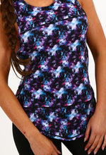 Body Pump Purple Multi Geo Print Vest