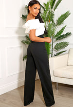 Black and White Occasion Jumpsuit