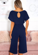 Culotte Jumpsuit in Navy Blue