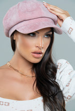 Pink Baker Boy Hat
