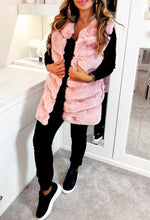 Candy Baby Pink Fur Gilet
