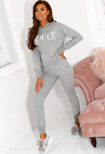 Two Piece Loungewear Set in Grey