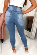 Light Blue Denim Stretch Jeans