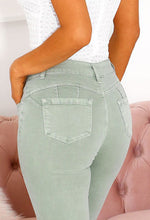 Bum Lift Jeans in Khaki
