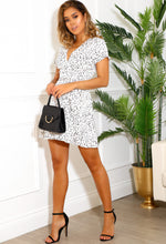 White Polka Dot Day Dress