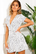 White Spotty Summer Dress