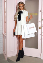 White Shirt Mini Dress