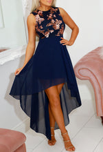 Sequin Navy Party Dress