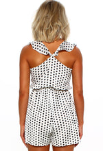 Polka Dot Print Playsuit