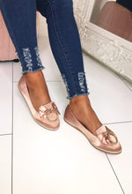 Pink Slip on Loafers