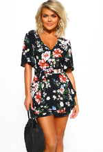 Floral Playsuit - Front View